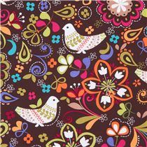 Michael-Miller-bird-fabric-Espresso-Birds-of-Norway-145033-3