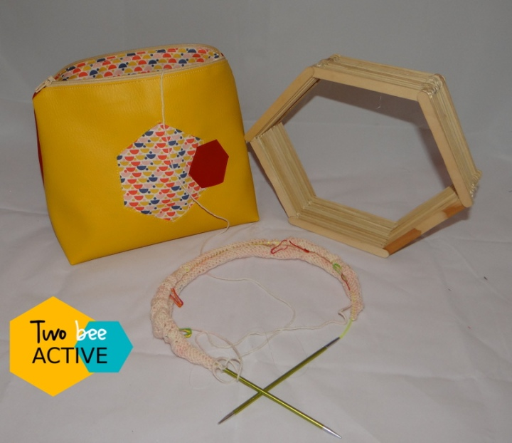 #bee DIY bag Gryffondord2