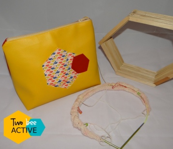 #bee DIY bag Gryffondord5