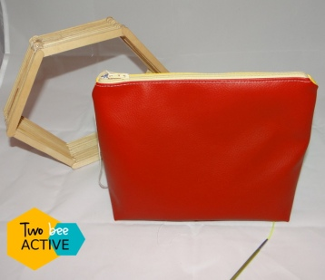#bee DIY bag Gryffondord6