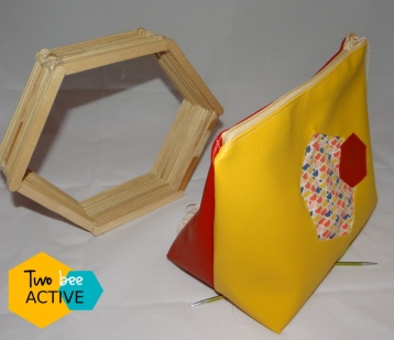 #bee DIY bag Gryffondord7