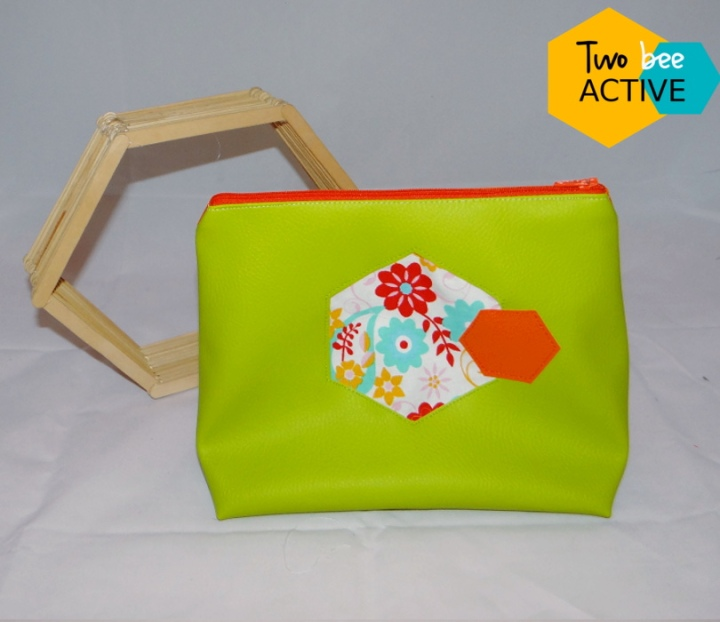 #bee DIY bag vert orange
