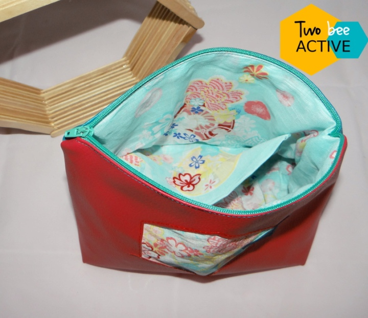 #bee DIY bag violet rose canard4